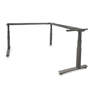 Allegretto Table en ''L'' 3 pattes ajustable électrique 24''