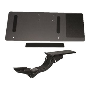 Keyboard drawer The Summit sit-stand right hand 23'' rails