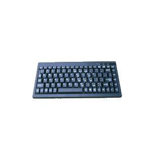 Wired Mini Keyboard USB French Canadien Black ACK-595U